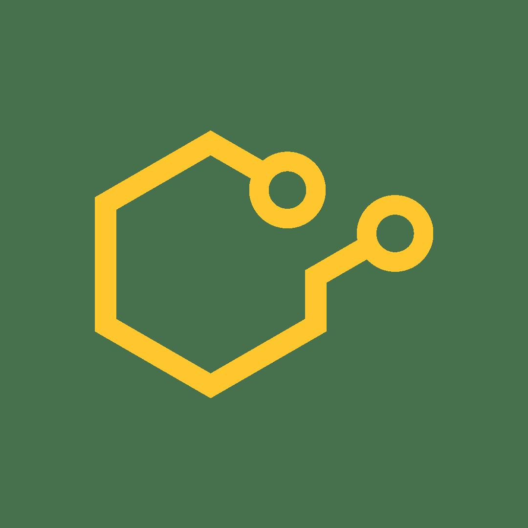 Apidari_Hexagraf-ikon_Gul
